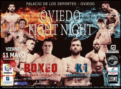 velada boxeo k1 oviedo
