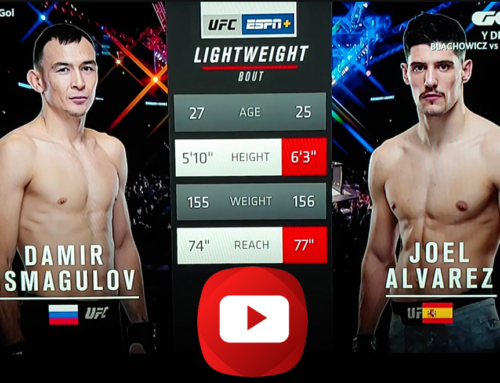 Gran Debut de JOEL ÁLVAREZ en UFC.