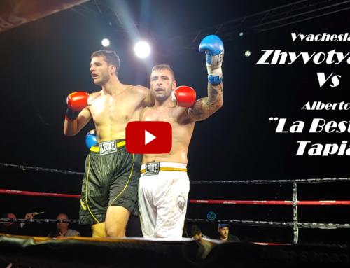 BOXEO en Directo Alberto ¨La Bestia¨Tapia Vs Vyacheslav Zhyvotyagin | Velada de Boxeo by ioco Tv