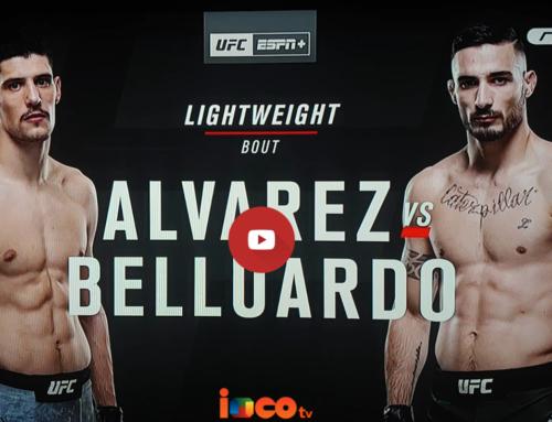 UFC 153 Estocolmo: 壘 KO histórico de JOEL ALVAREZ Vs BELLUARDO