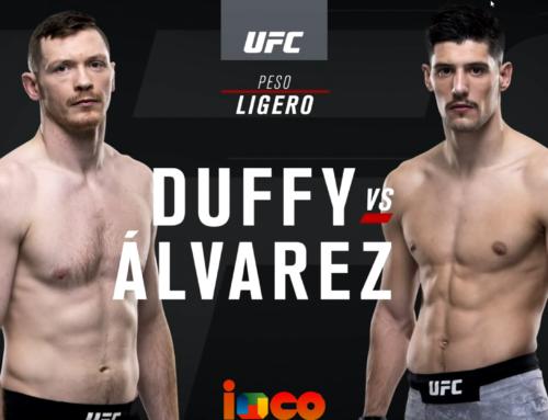 Enhorabuena Joel ¨El Fenómeno¨ Álvarez Vs Duffy VICTORIA de Joel por estrangulamiento UFC
